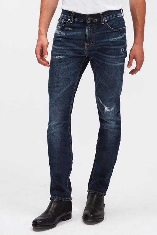 RONNIE ARIES DARK BLUE DISTRESSED