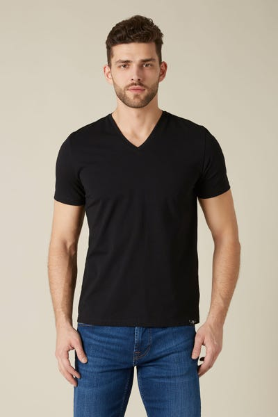 T-SHIRT LUXE PERFORMANCE BLACK