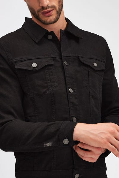 PERFECT JACKET LUXE PERFORMANCE RINSE BLACK