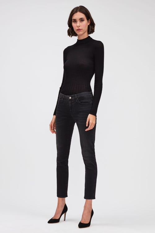 PYPER CROP B(AIR) COSMIC WITH EMBELLISHED LABELS