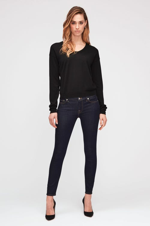 7 For All Mankind - The Skinny Crop B(Air) Clean Rinse