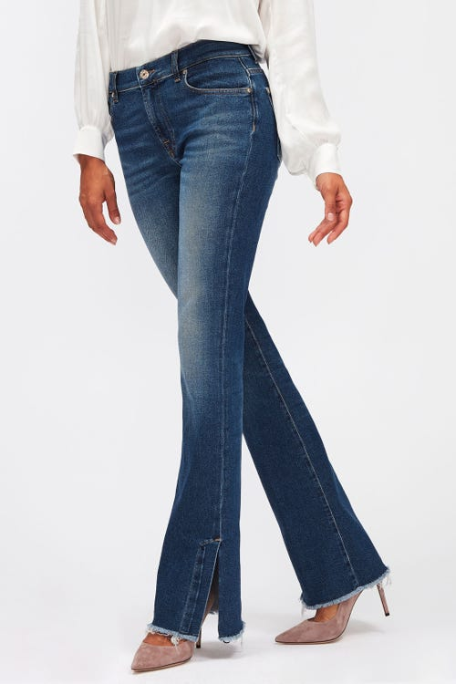 BOOTCUT LUXE VINTAGE PACIFIC GROVE WITH SPLIT FRAYED HEM