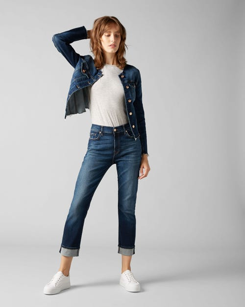 7 for all Mankind - RELAXED SKINNY SLIM ILLUSION MELROSE
