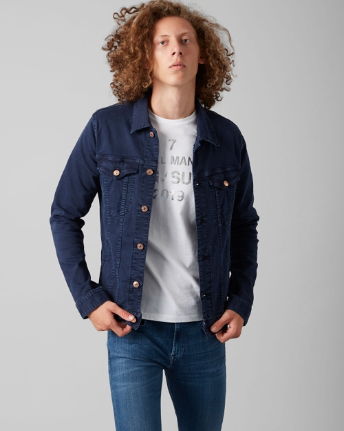 Men S Denim Jackets 7 For All Mankind