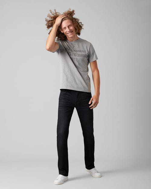 7 For All Mankind - Standard Luxe Performance Washed Black