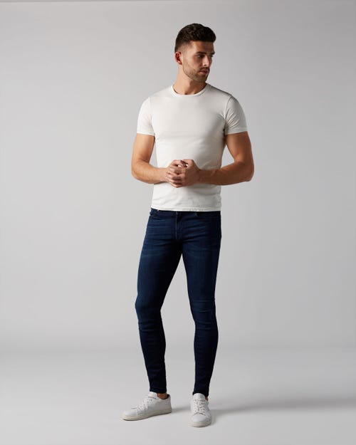 RONNIE TAPERED LUXE PERFORMANCE PLUS DEEP BLUE