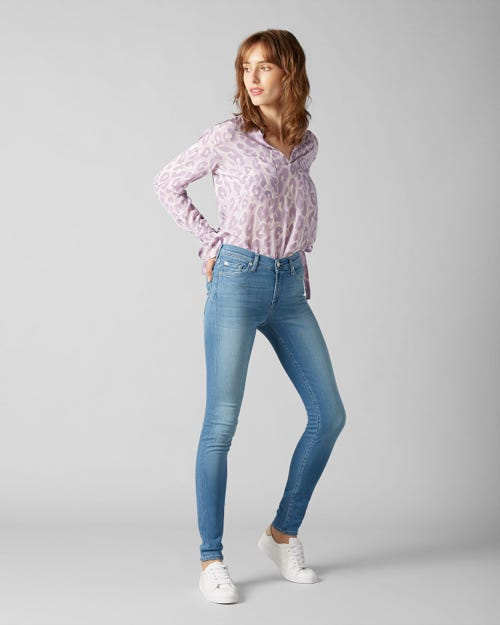 7 For All Mankind - The Skinny Slim Illusion Luxe Fairfax