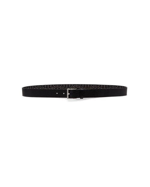 7 For All Mankind - Studded Belt Black