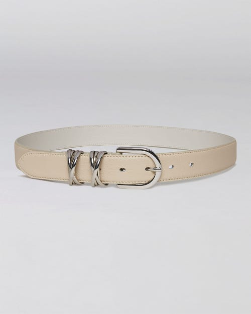 7 For All Mankind - Crossed Belt Loop Leather