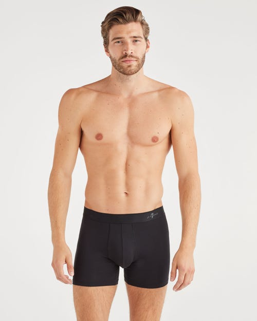 BOXER BRIEF 2 PACK IN BLACK