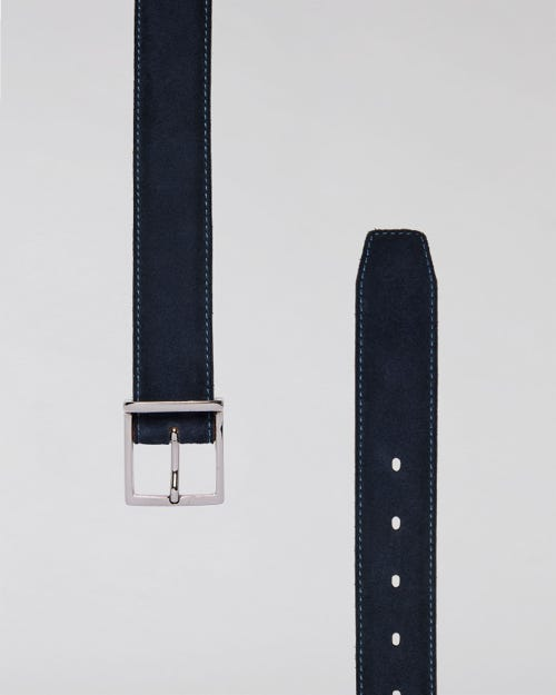 CLASSIC BELT WASHED SUEDE