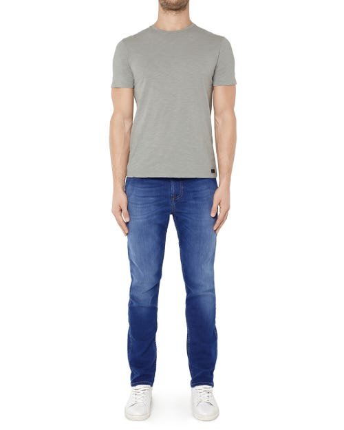 7 For All Mankind - Ryan Pant Denim Fleece Mid Blue