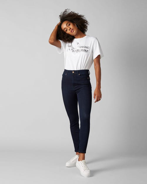 7 For All Mankind - Aubrey Slim Illusion Luxe Vista