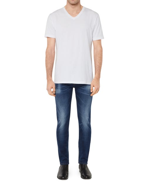 7 For All Mankind - Ronnie Luxe Performance Vintage Dark Blue
