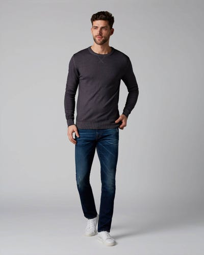 7 For All Mankind - Ronnie Clarendon Dark Blue