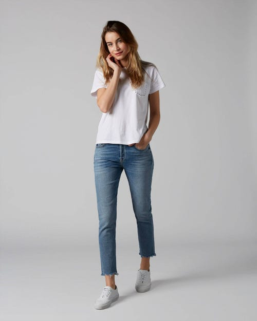 7 For All Mankind - Asher Luxe Vintage Flashback With Roll Up