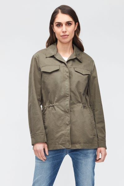 UTILITY JACKET COTTON  ARMY