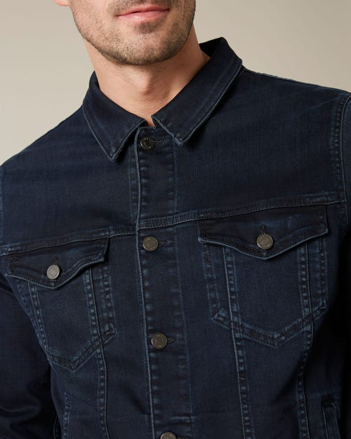 PERFECT JACKET LUXE PERFORMANCE BLUE BLACK