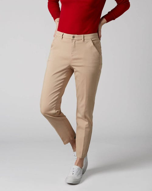 7 For All Mankind - Chino Sateen Beige