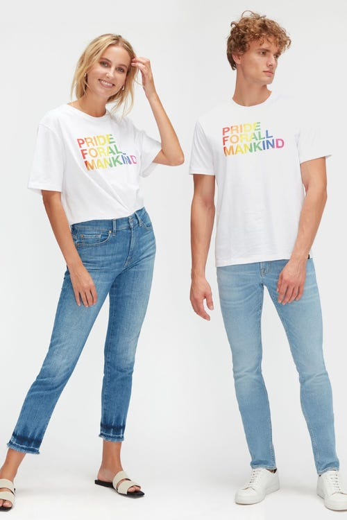 GRAPHIC TEE JERSEY FOR PRIDE WHITE