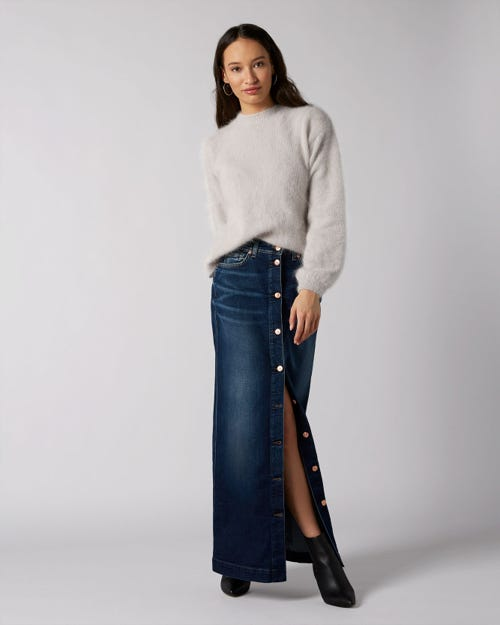 7 For All Mankind - Maxi Skirt En Route