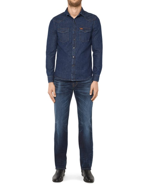 7 For All Mankind - Standard Special Edition Rodeo Deep Blue