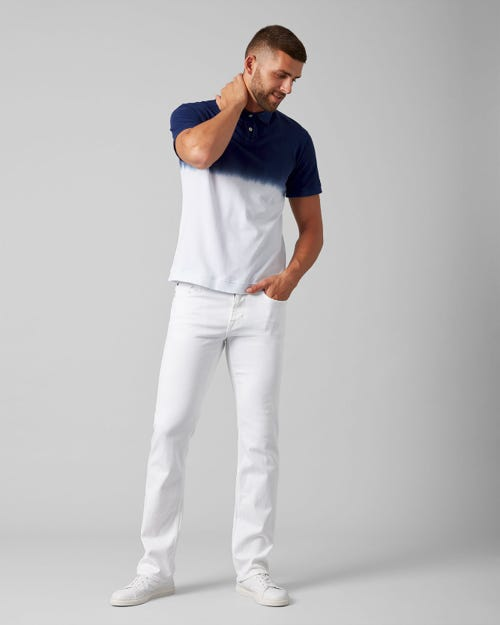 7 For All Mankind - Standard Luxe Performance White