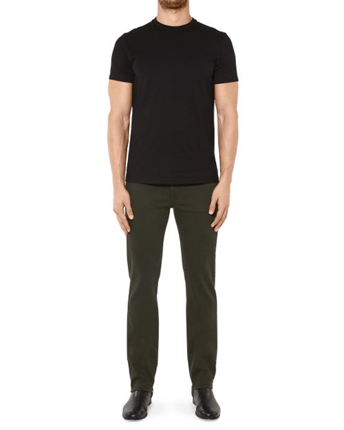 7 For All Mankind - Slimmy Luxe Performance Color Forest Night