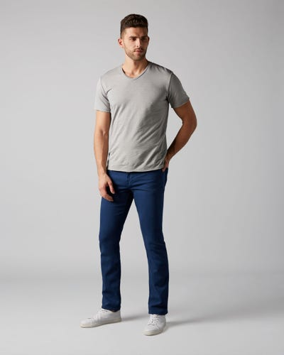 7 For All Mankind - Slimmy Luxe Performance Colors Ultramarine Blue