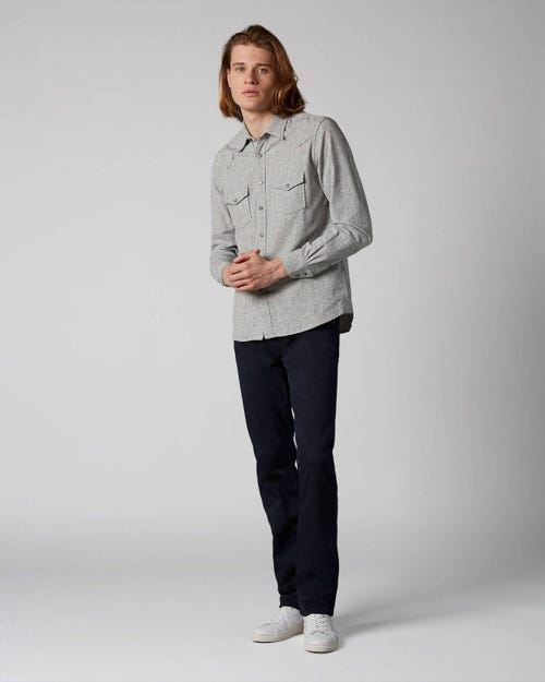 7 For All Mankind - Slimmy Luxe Performance Color Navy Navy