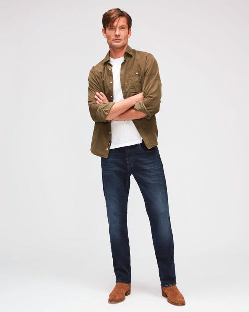7 For All Mankind - Slimmy Luxe Performance Dark Blue