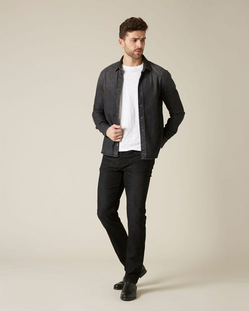 KAYDEN LUXE PERFORMANCE WASHED BLACK