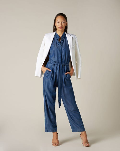 JUMPSUIT VALLEY DARK INDIGO