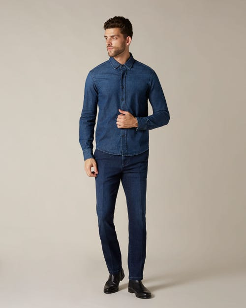 SLIMMY CHINO LUXE PERFORMANCE VENICE DARK BLUE