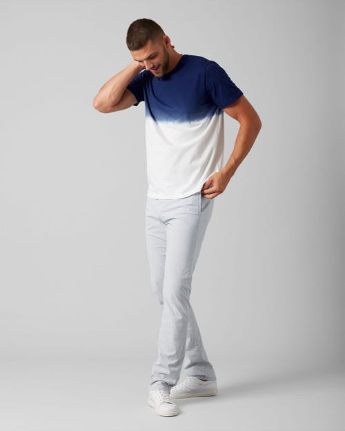 7 for all Mankind - SLIMMY CHINO ULTRA LIGHT WEIGHT COLORS BLUE CHILL