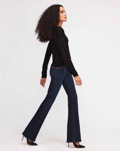 7 For All Mankind - Bootcut B(Air) Rinsed Indigo
