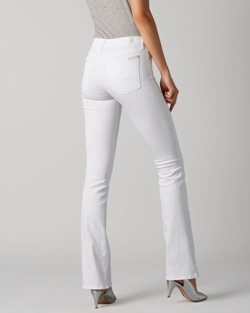 7 For All Mankind - Bootcut Clean White