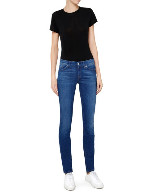 7 For All Mankind - Cristen Slim Illusion Surf