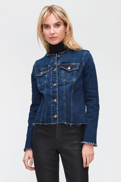 DENIM JACKET SLIM ILLUSION ECO EMPOWER