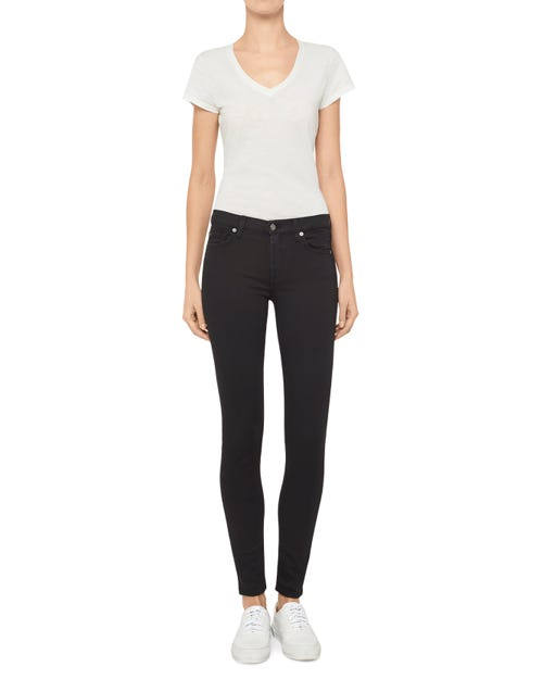 7 For All Mankind - The Skinny Phoenix Black