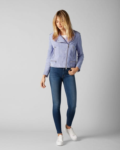 7 for all Mankind - HIGH WAIST SKINNY SLIM ILLUSION LUXE LOS FELIZ