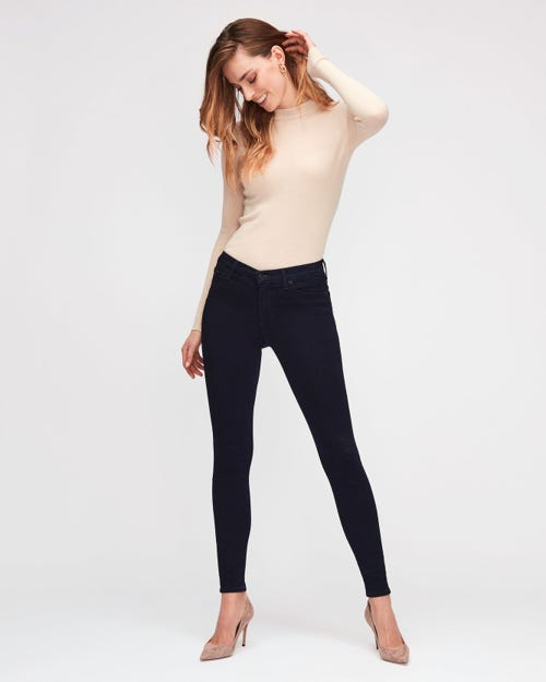 7 For All Mankind - High Waist Skinny Slim Illusion Luxe Certainty