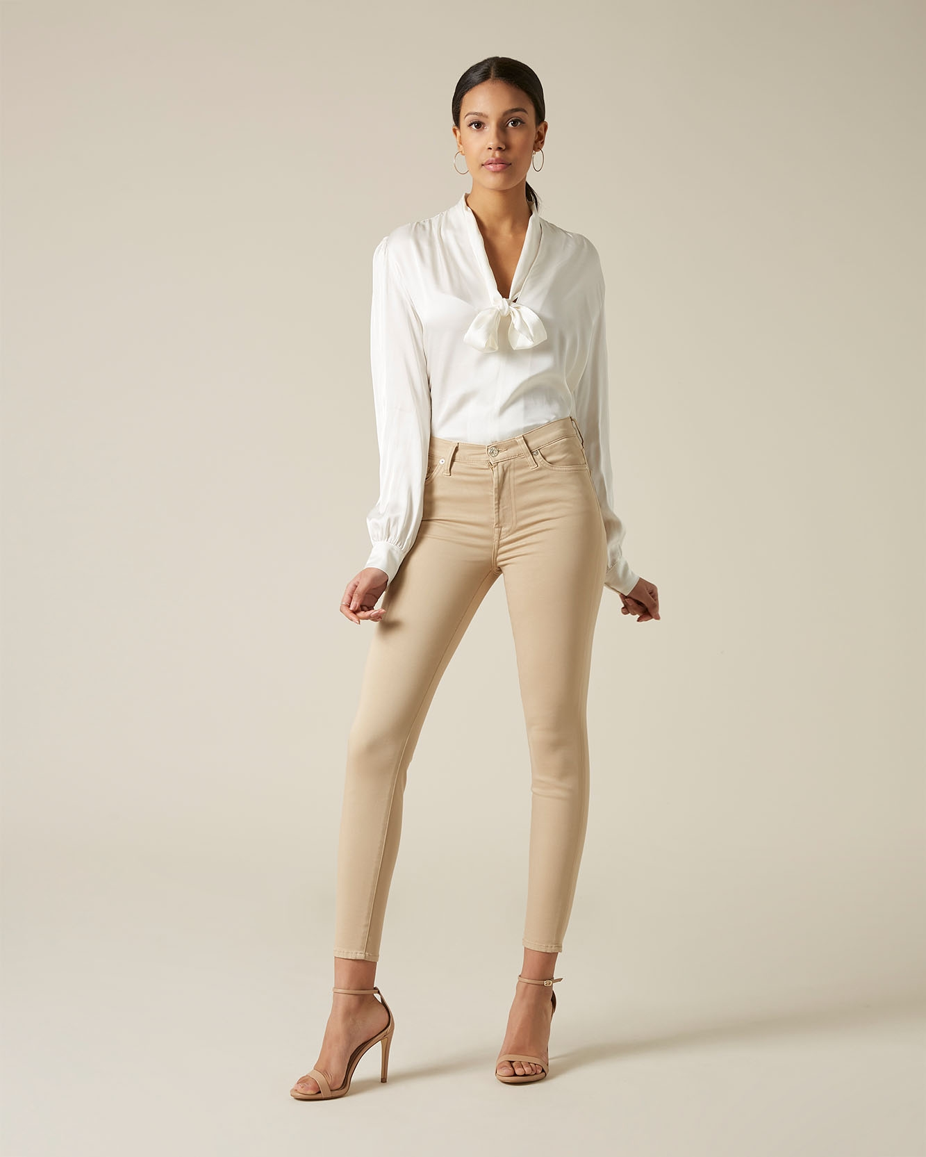 7 For All Mankind The Skinny Crop Jeans Femme