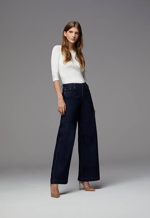 7 Wide legs -  7 For all Mankind - Jeans, Vestes & Vêtements Denim